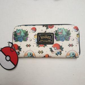 Loungefly Pokemon Tattoo Wallet NWT